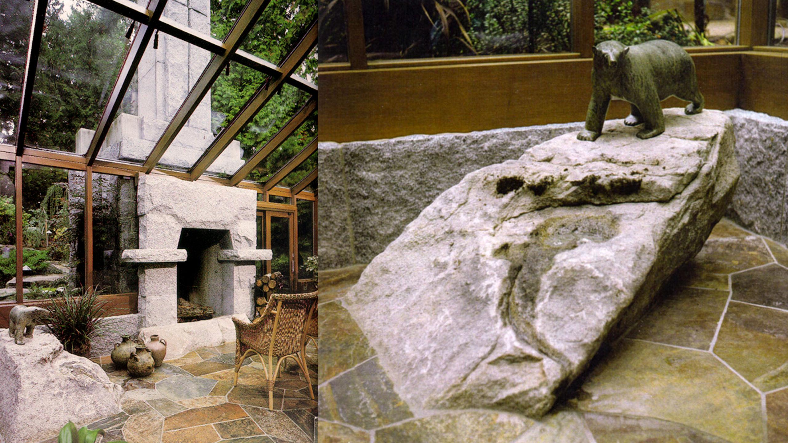 Sahalee residence robert edson swain architecture design for Macintosh garden