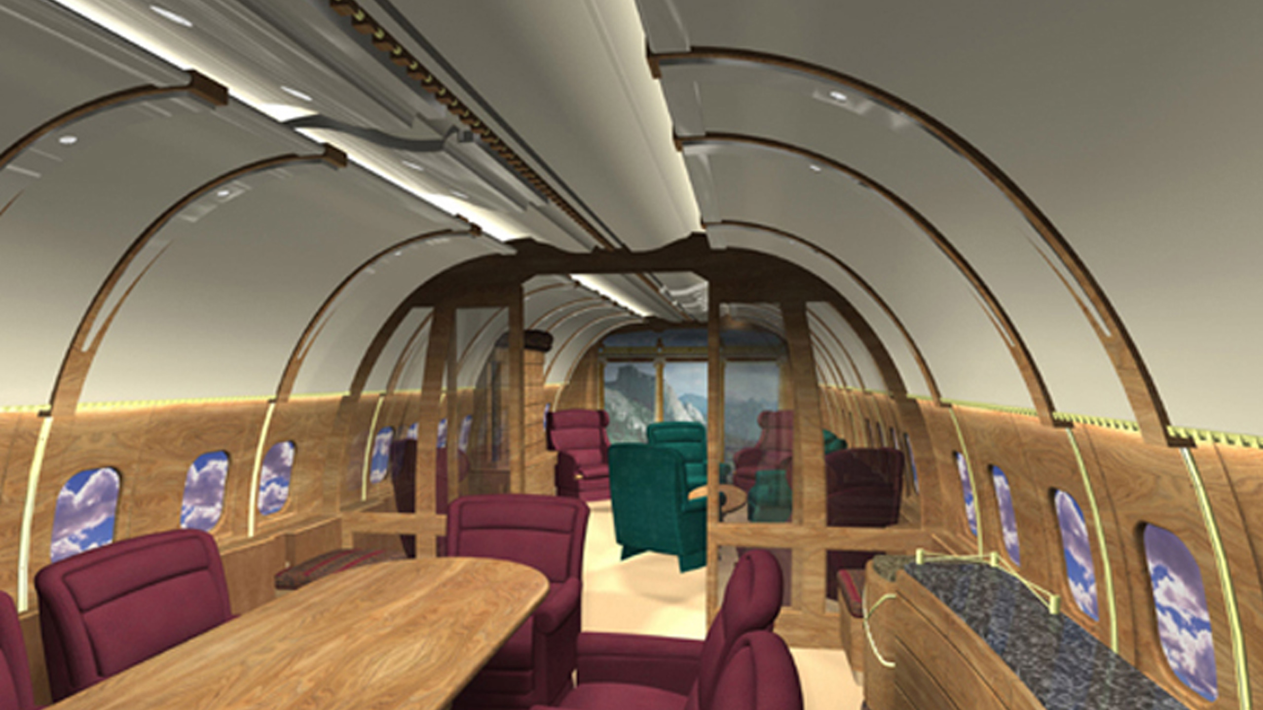 Boeing Business Jet Interiors - Robert Edson Swain ...